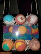 Key West Bathbomb/Soap Box Set